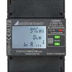 Gossen Metrawatt EM2289 S0 trifazni števec električnega toka