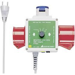 Merilni adapter CEE-vtičnica 16A 3 polna, CEE-vtičnica 16 A 5 polna, CEE-vtičnica 32 A 5 polna - vtič z zaščitenimi kontakti Gos