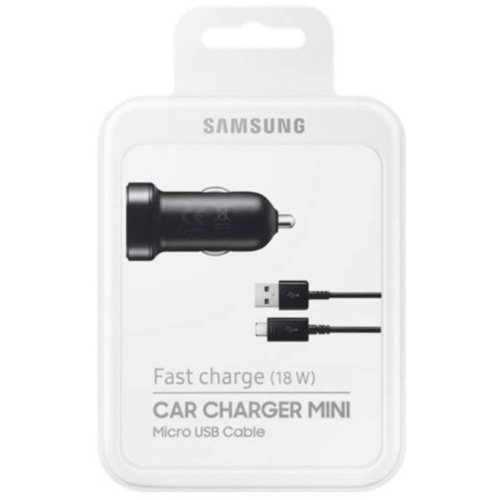 USB-oplader Samsung EP-LN930B EP-LN930BBEGWW Personbil, Lastbil Udgangsstrøm max. 2 A 1 x Micro-USB-Stecker (value.1390754)