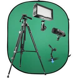 Video LED-svetilka Walimex Pro V-Log Set 1 Število LED diod=128