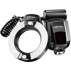 Ringblixt Walimex Pro Canon Ljuskänslighet ISO 100/50 mm 14