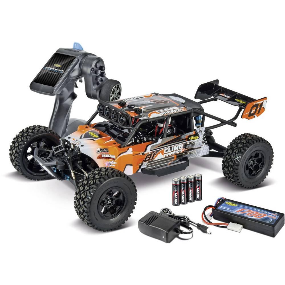 Carson Modellsport Climb Warrior 2.0 s ščetkami 1:10 RC Modeli avtomobilov Elektro Crawler Pogon na vsa kolesa (4WD) 100% RtR 2,
