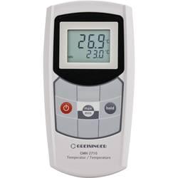 Greisinger GMH2710-E-L01 vbodno tipalo -199.9 do +200 °C Vrsta senzorja pt1000 Kalibrirano: delovni standardi (lastni)