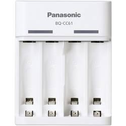 Polnilna naprava za okrogle baterije NiMH Panasonic BQ-CC61 micro (AAA), mignon (AA)