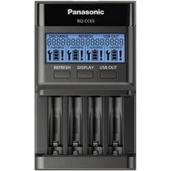 Punjač za okrugle baterije NiMH Panasonic BQ-CC65 micro (AAA), mignon (AA)