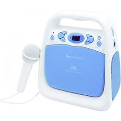 Barn CD-spelare SoundMaster KCD 50 Blå