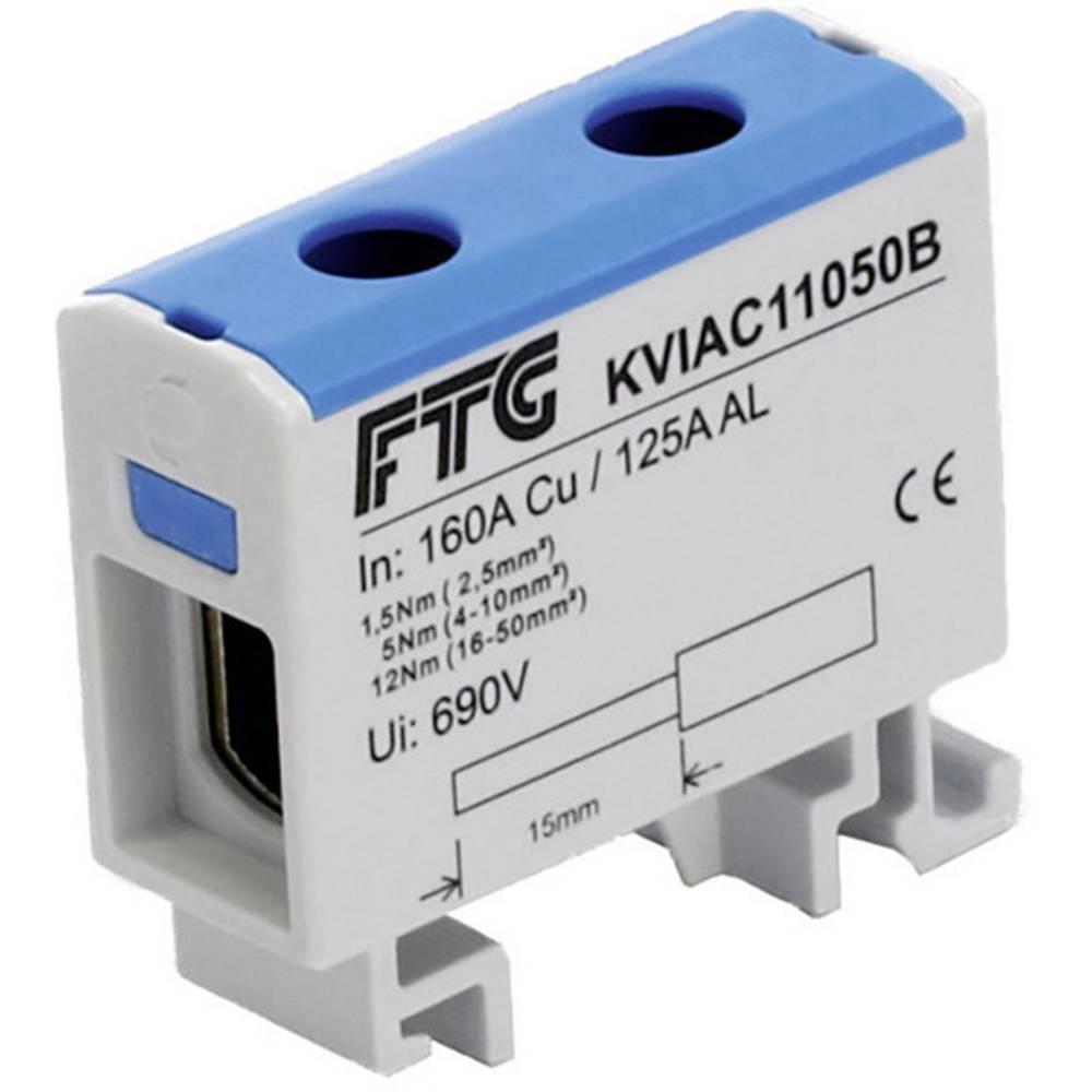 FTG Friedrich Göhringer KVIAC 11050B povezovalna sponka modra 1-polni 50 mm² 160 A, 145 A Vrste vodnikov = N