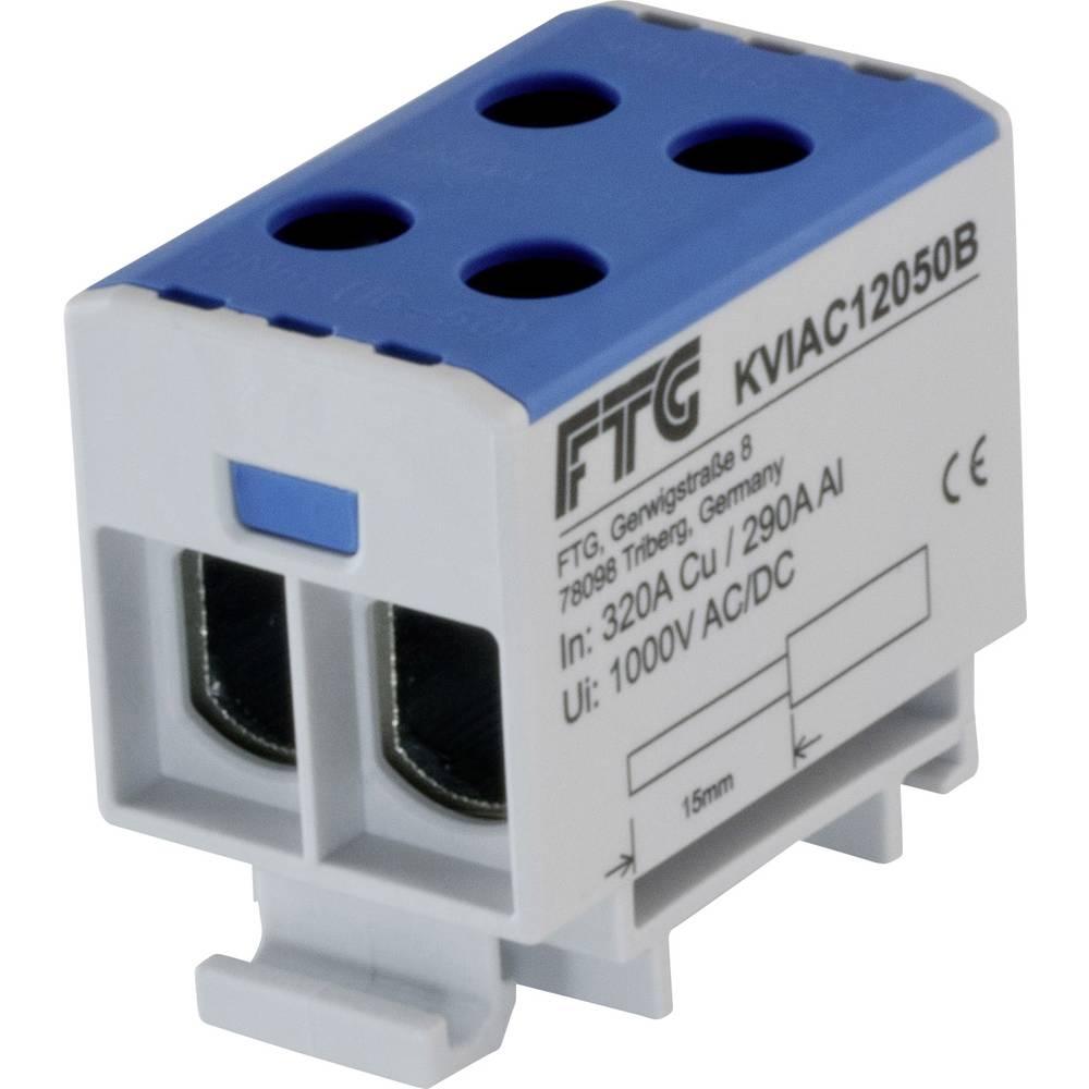 FTG Friedrich Göhringer KVIAC12050B povezovalna sponka modra 1-polni 50 mm² 320 A, 290 A Vrste vodnikov = N