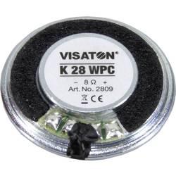 Visaton K 28 WPC 1.1 Palec 2.8 cm Vgradni zvočnik 1 W 8 Ω