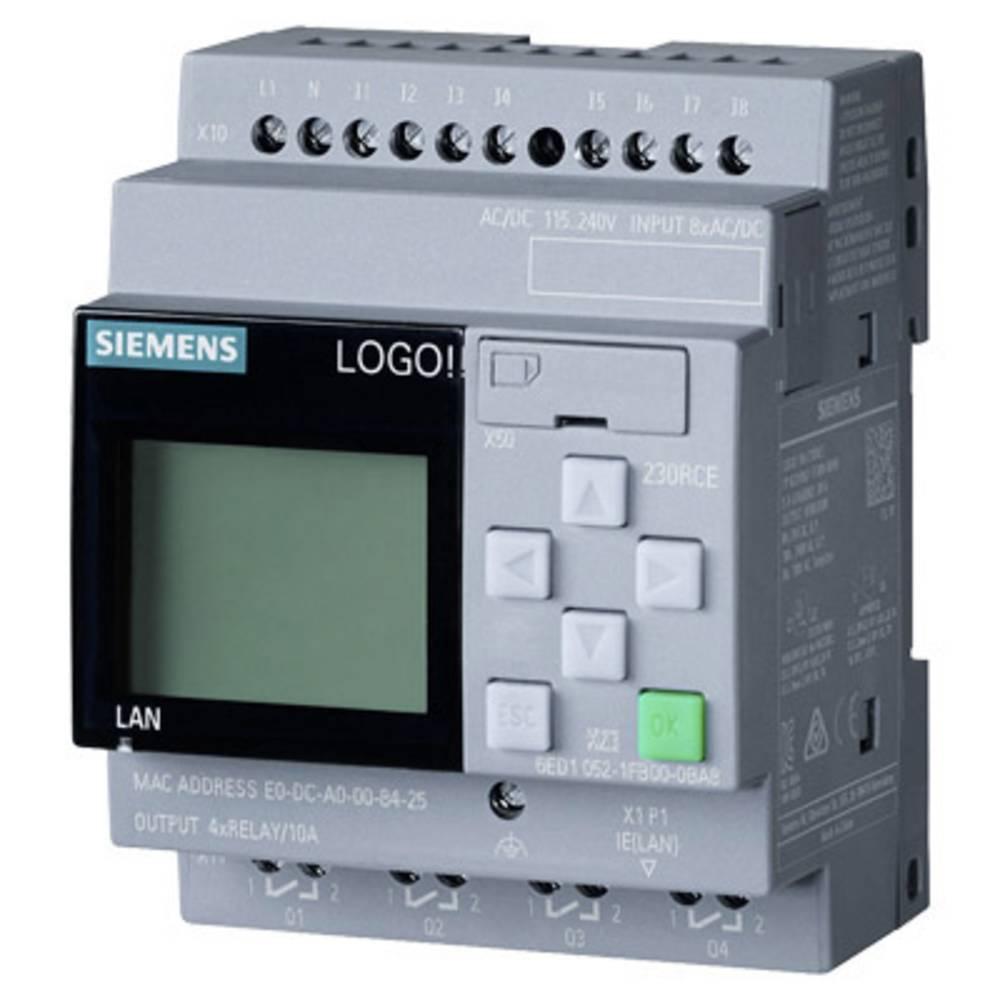 SPS krmilni modul Siemens 6ED1052-1FB08-0BA0 6ED1052-1FB08-0BA0 115 V/AC, 115 V/DC, 230 V/AC, 230 V/DC/Komponente/Conrad.si