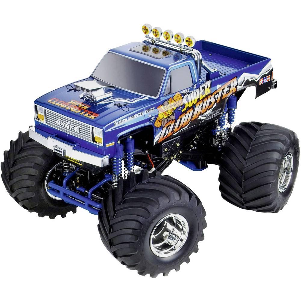 Tamiya Super Clod Buster s ščetkami 1:10 RC Modeli avtomobilov Elektro Monster Truck Pogon na vsa kolesa (4WD) Komplet za sestav