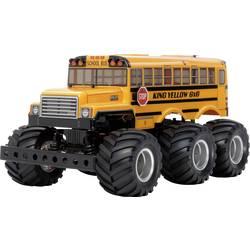 Tamiya King Yellow 6x6 Bus s ščetkami 1:18 RC Modeli avtomobilov Elektro Monster Truck Pogon na vsa kolesa (4WD) Komplet za sest