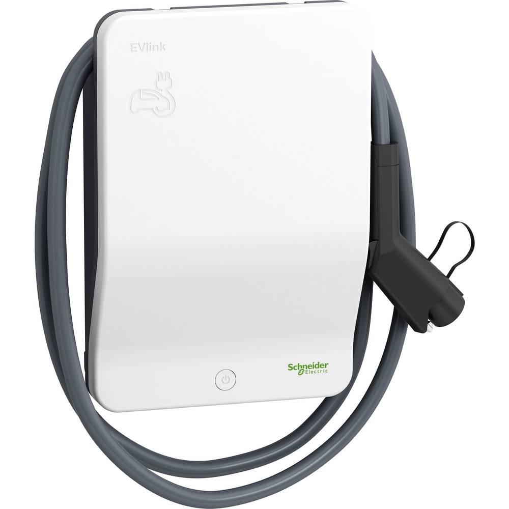 Schneider Electric EVB1A7PARI EVlink Wallbox eMobility polnilna postaja tip 1 način 1 32 A 7.4 kW RFID
