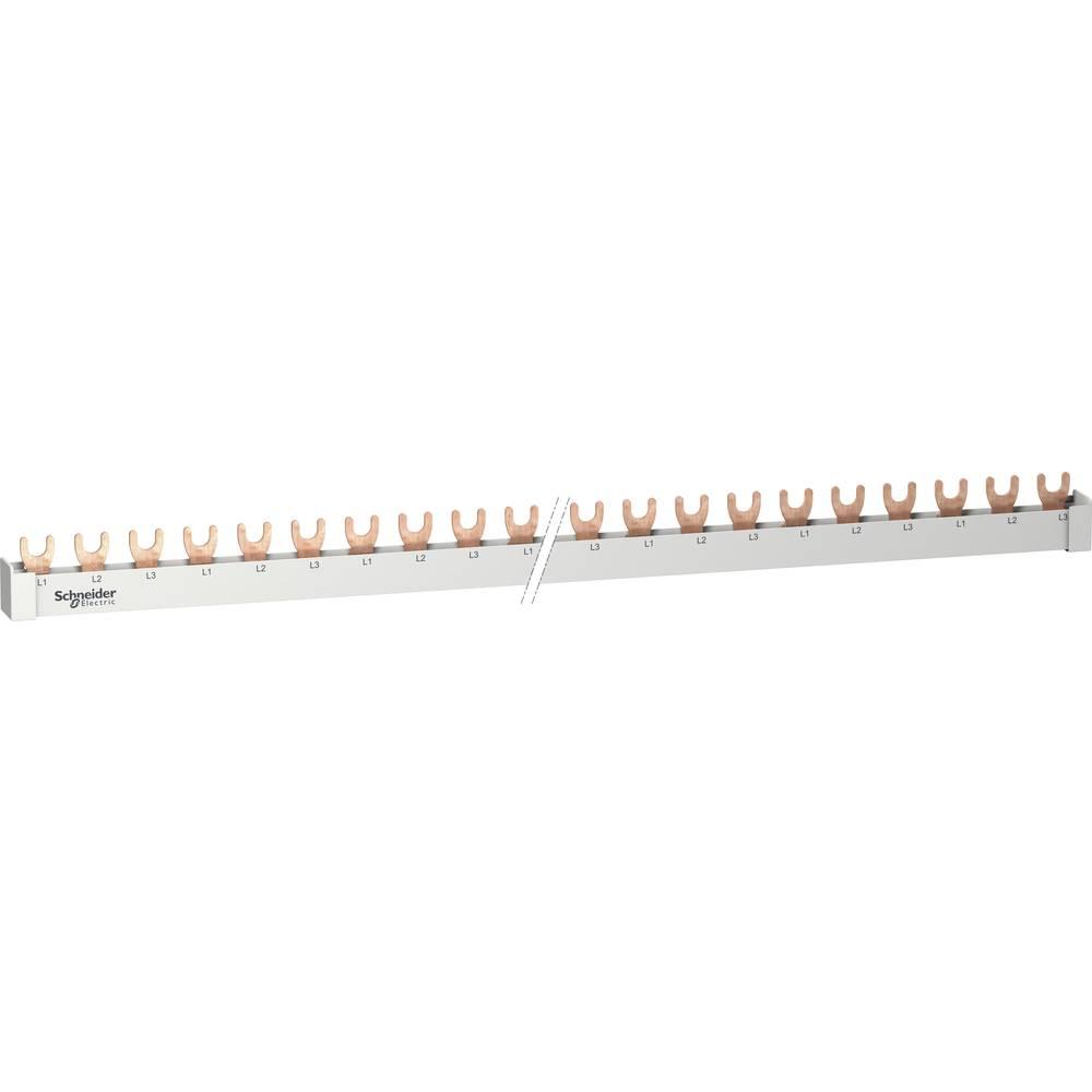 fazna letev sivo-bela (ral 7035) 63 A 500 V Vrste vodnikov = L Schneider Electric R9XFH157