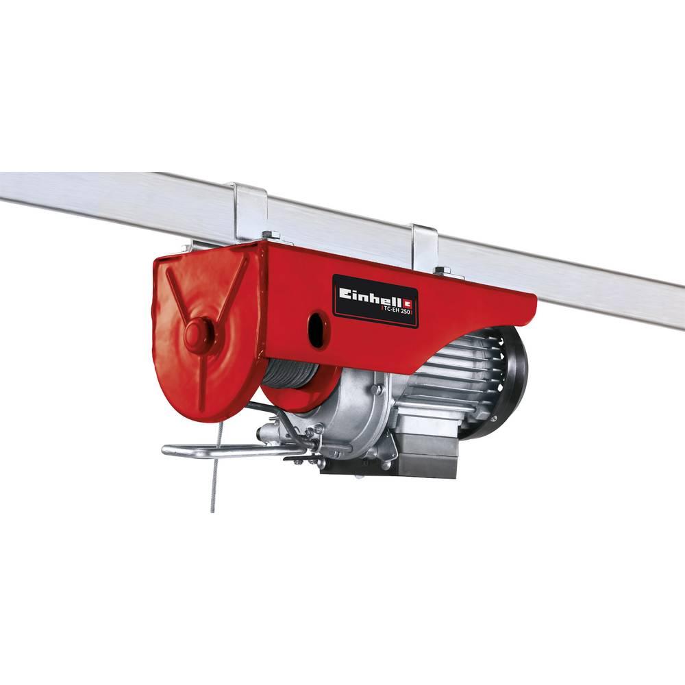 Einhell 2255130 dvigalo z žično vrvjo TC-EH 250 nosilnost: 250 kg