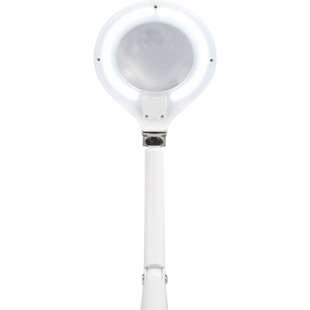 LED namizna svetilka z lupo LED 5 W 100 mm TOOLCRAFT TO-4899501 delovni polmer: 30 cm