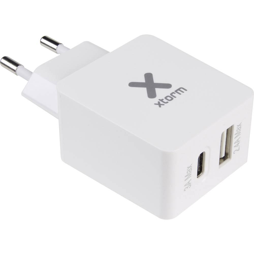 USB-oplader Xtorm by A-Solar CX018 CX018 Stikdåse Udgangsstrøm max. 5400 mA 2 x USB (value.1390762), USB-C™ Buchse (value.