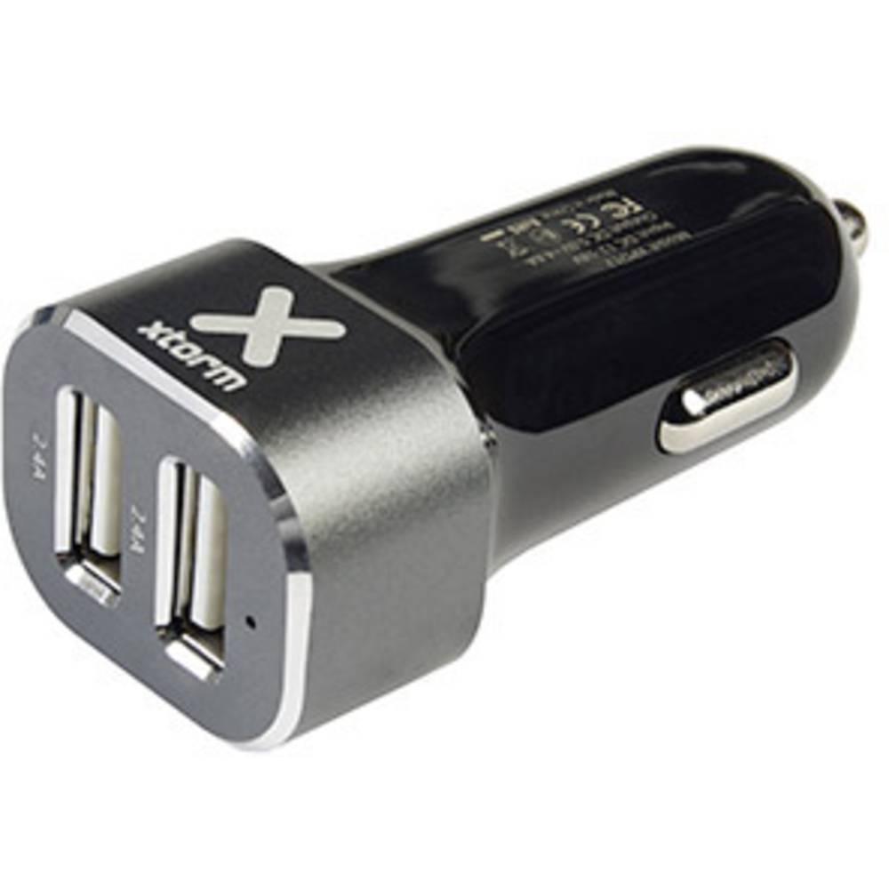 USB-oplader Xtorm by A-Solar XPD12 XPD12 Personbil Udgangsstrøm max. 4800 mA 2 x USB (value.1390762)