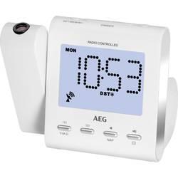 AEG MRC 4122 FN radijska ura ukw, am aux bela