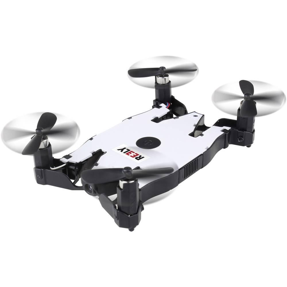 Reely žepni Drone Quadrocopter RtF, za začetnike, s kamero