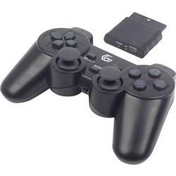 Handkontroll Gembird JPD-WDV-01 PC, PlayStation 2, PlayStation 3 Svart