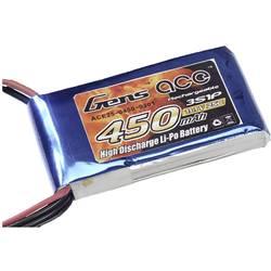 Gens ace LiPo akumulatorski paket za modele 11.1 V 450 mAh Število celic: 3 25 C Mehka torba BEC