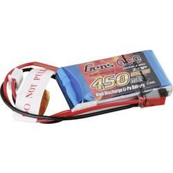 Gens ace LiPo akumulatorski paket za modele 7.4 V 450 mAh Število celic: 2 25 C Mehka torba BEC