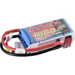 Gens ace LiPo akumulatorski paket za modele 11.1 V 1000 mAh Število celic: 3 25 C Mehka torba T-priključni sistem