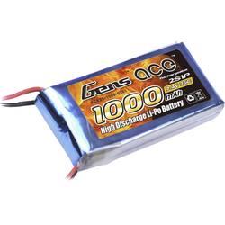 Gens ace LiPo akumulatorski paket za modele 7.4 V 1000 mAh Število celic: 2 25 C Mehka torba T-priključni sistem