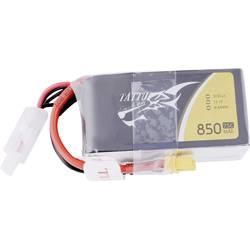LiPo akumulatorski paket za modele 11.1 V 850 mAh Broj ćelija: 3 75 C Tattu Softcase XT30