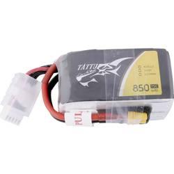 LiPo akumulatorski paket za modele 14.8 V 850 mAh Broj ćelija: 4 75 C Tattu Softcase XT30