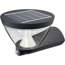 Solcells-utomhusväggbelysning med rörelsedetektor OSRAM ENDURA© STYLE Lantern 5 W 340 lm Varmvit Antracit