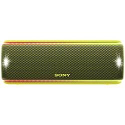 Sony SRS-XB31 Bluetooth® zvočnik AUX, Zunanji zvočnik, NFC, Odporen na prah, Vodoodporen Rumena