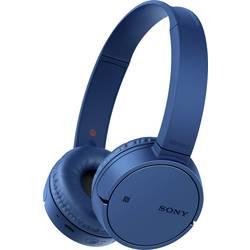 Bluetooth® on ear slušalice Sony WH-CH500 na ušima slušalice s mikrofonom plava boja
