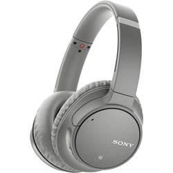 Bluetooth® on ear slušalice Sony WH-CH700N na ušima slušalice s mikrofonom, poništavanje buke siva