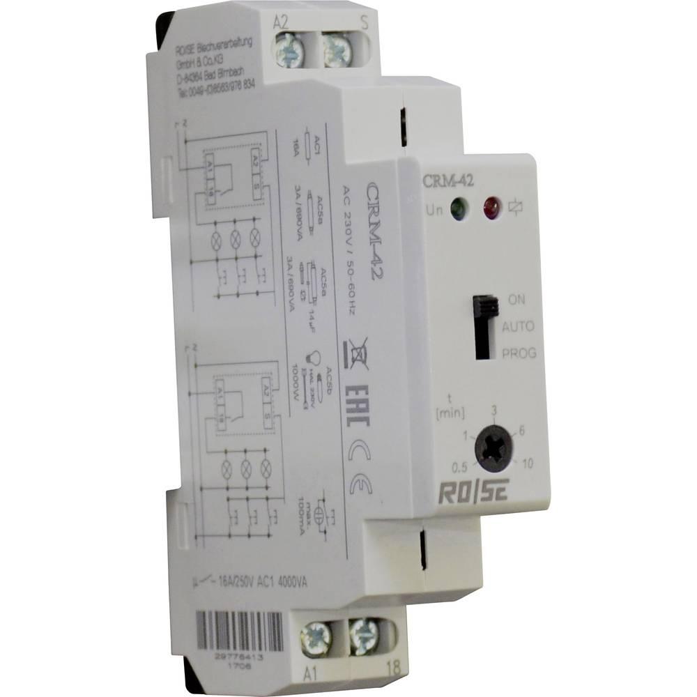 Rose LM CRM-42/230 svjetlosni automat za stubišta 230 V/AC 1 St. Vremenski opseg: 30 s - 10 min 1 prebacivanje