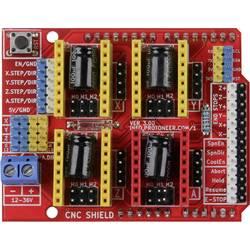 Joy-it Motordrivenheten CNC Controllerboard inkl. 4x A4988 Motortreiber Passar till: Arduino UNO