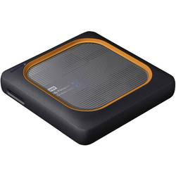 WLAN SSD trdi disk 500 GB WD My Passport™ Wireless SSD Siva WDBAMJ5000AGY-EESN Reža za SD kartico
