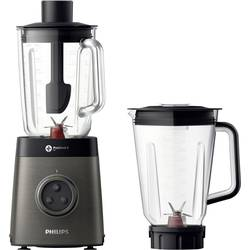 Blender Philips HR3657/90 1400 W Antracit, Sort