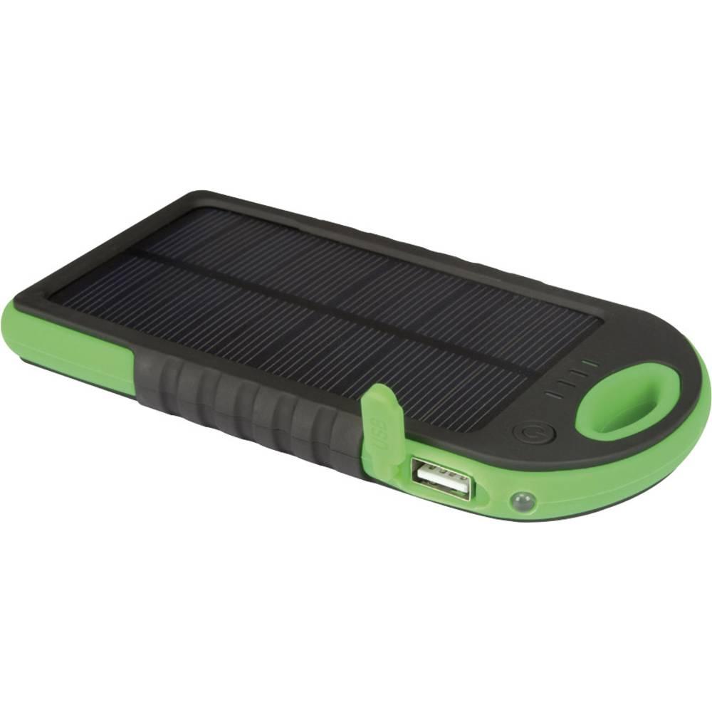 Solarni punjač Velleman Solar Powerbank PCMP32 Struja za punjenje (maks.) 200 mA Kapacitet (mAh, Ah) 5000 mAh