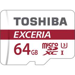 microSDXC-Kort Toshiba Exceria M302 Class 10, UHS-Class 3 64 GB inkl. SD-adapter