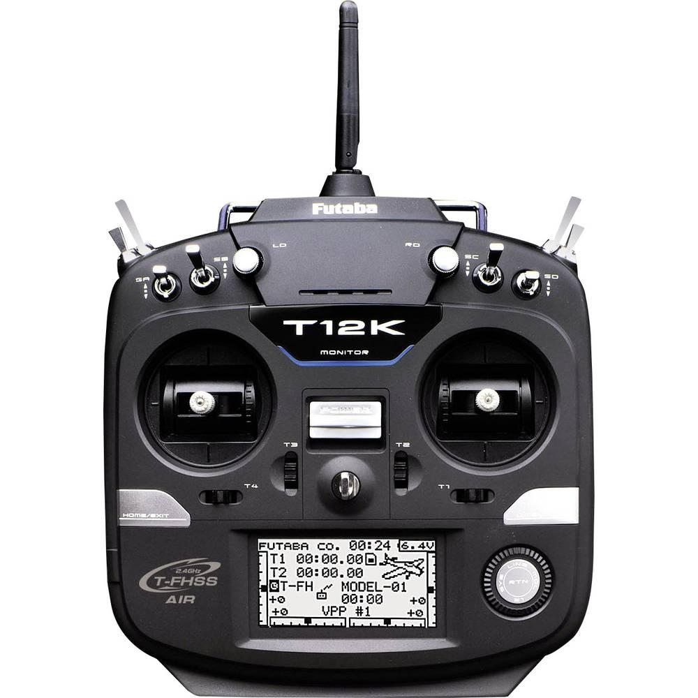 Futaba T12K Ručni daljinski upravljač 2,4 GHz Broj kanala: 12 Uklj. prijemnik