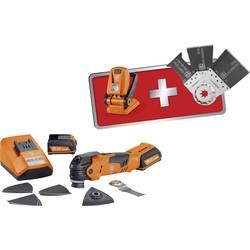 Multiverktyg Inkl. 2x batteri, Inkl. Tillbehör, Inkl. väska, Inkl. ficklampa 19 delar 12 V 2.5 Ah Fein AFMT12SL MultiTalent Edit