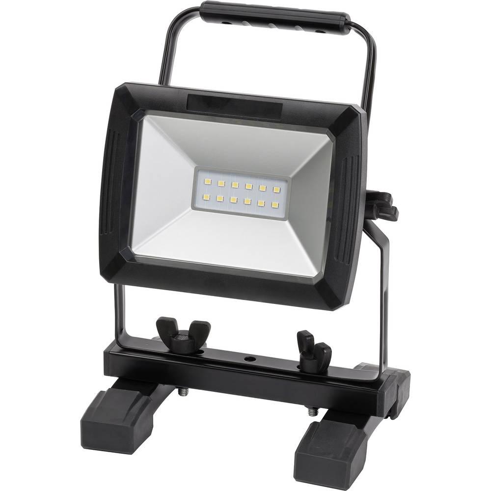 SMD-LED Arbejdslys Batteridrevet, med bil-stik Brennenstuhl 1171260111 10 W 730 lm