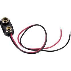 Baterije - držač 1x 9 V Block Snap priključak (D x Š x V) 24.5 x 11.8 x 7.3 mm TRU COMPONENTS 18-0093