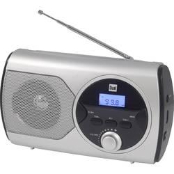 Dual P 10 žepni radio ukw srebrna