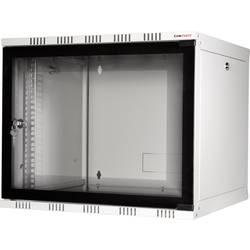 19 tommer vægkabinet LogiLink 19 WALLMOUNT SOHO BOX 12U 540*400, GREY, FLATPACK (B x H x T) 540 x 589 x 400 mm 12 U Lys grå (RA