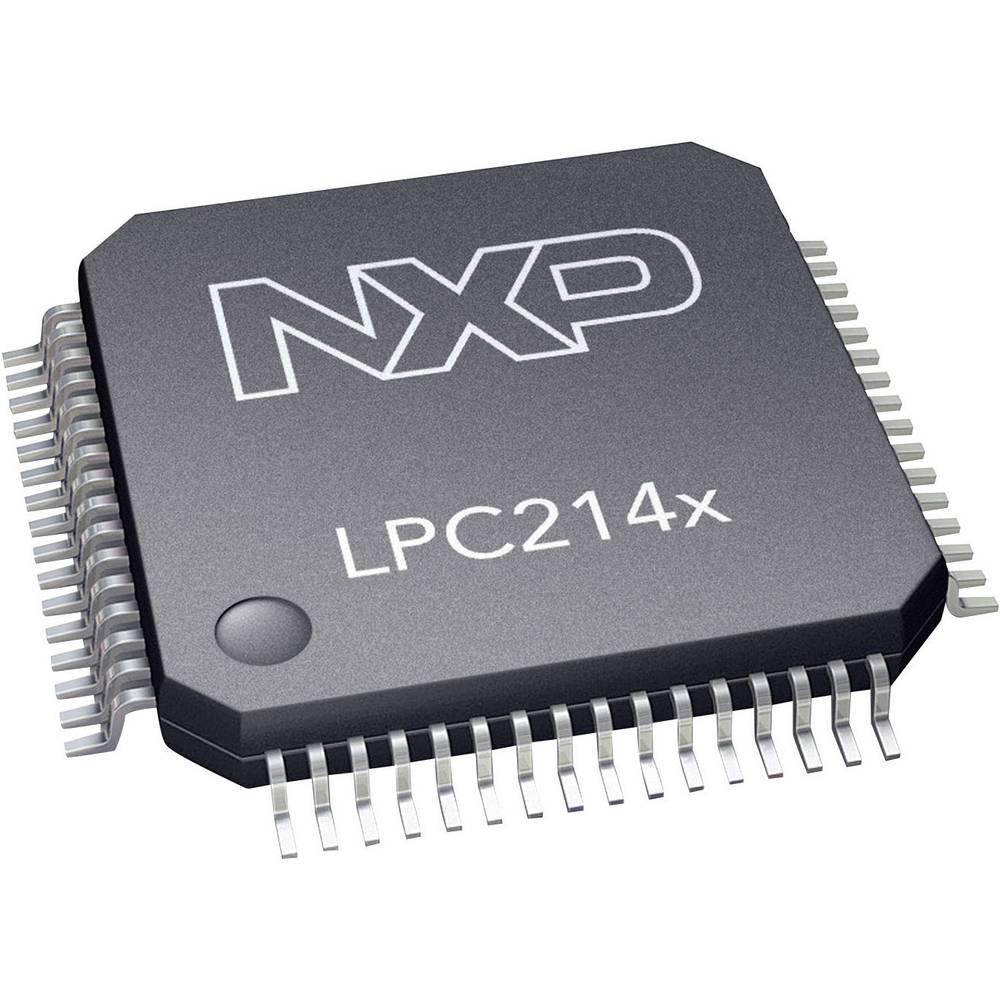 Vgrajeni mikrokontroler LPC2141FBD64,151 LQFP-64 (10x10) NXP Semiconductors 16/32-bitni 60 MHz število I/O 45