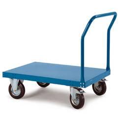 Manuflex TT0111.5021 transportni voziček s potisnim ročajem jeklena pločevina Obremenitev (maks.): 200 kg