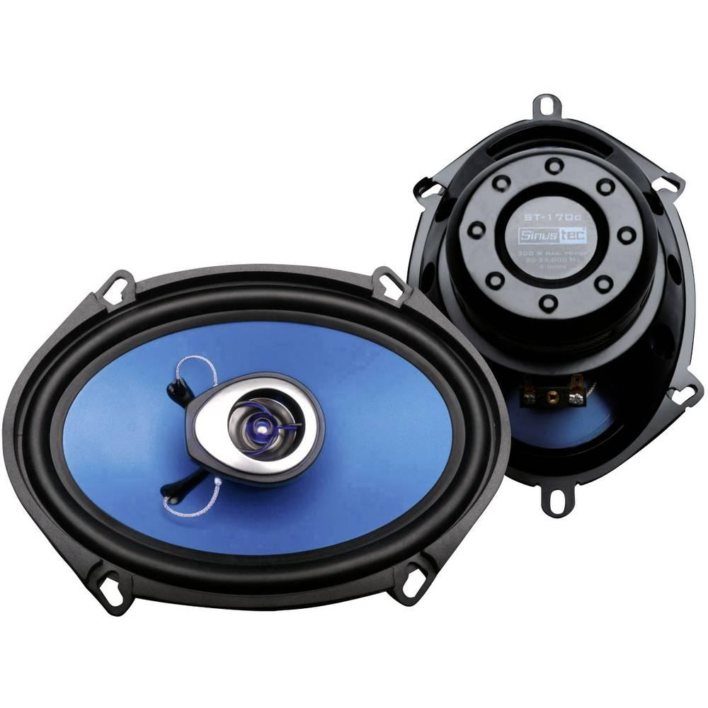 Sinustec ST-170C 2-sistemski koaksialni zvočniki za vgradnjo 300 W Vsebina: 1 par